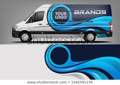 Find Van Wrap Livery Design Ready Print stock images in HD and millions of other royalty-free stock photos, illustrations and vectors in the Shutterstock collection. Thousands of new, high-quality pictures added every day. Graphisches Design, Tool Design, Ford Ranger, Vehicle Signage, Vehicle Branding, Wrap Advertising, Renault Master, Eco Friendly Cars, Van Wrap