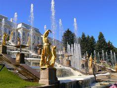 Peterhof, Санкт-Петербург, Rusia