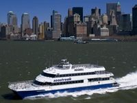 SeaStreak Ferry a convenient and lovely ride from Atlantic Highlands, NJ to Manhattan
