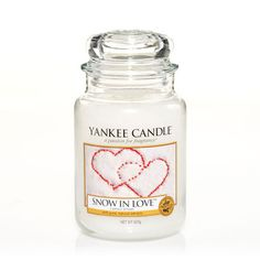 Snow In Love : Large Jar Candles : Yankee Candle