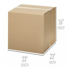 Extra Large Moving Boxes Moving Supplies, Packing Supplies, Large Moving Boxes, Moving Kit, Corrugated Box, Packing Boxes, X 23, Packing Light, Brown