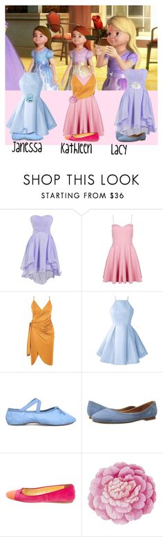"""""""Janessa, Kathleen, and Lacy - Barbie and the Twelve Dancing Princesses"""" by gryffindormermaid ❤ liked on Polyvore featuring Boohoo, Opera National de Paris, Frye, Prada, Ballard Designs and Gucci"""