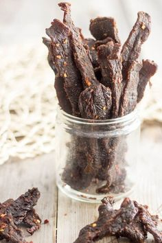 Make your own Beef Jerky with this recipe.