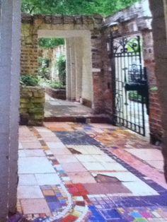 Garden and courtyard, Edgar Miller