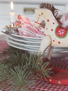 Swedish Christmas via Kaille Mazurowski