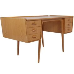 Desk by Svante Skogh | From a unique collection of antique and modern desks at https://www.1stdibs.com/furniture/storage-case-pieces/desks/