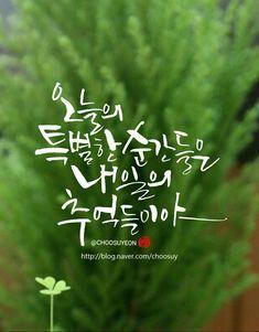 11번째 이미지 Calligraphy Alphabet, Calligraphy Fonts, Korean Design, Typography, Lettering, Great Words, Famous Quotes, Handwriting, Sayings