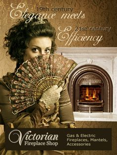 Victorian Fireplace Shop: Gas & Electric Fireplaces, Stove, Accessories