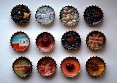 embellished bottlecaps
