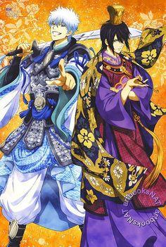Woah these costumes r nice Hot Anime Boy, Anime Guys, Manga Art, Anime Art, Gintama Wallpaper, Otaku Mode, Okikagu, Manga Pictures, Touken Ranbu