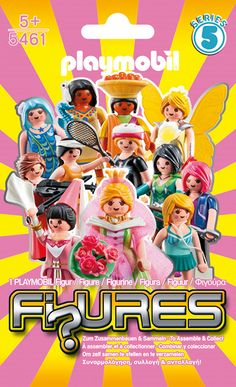 (Kids Toy Box)Playmobil Girls Figures Blind Bag - Series 5 - (Pack of Kids Toy Boxes, Kids Toys, Cookie Swirl C, Playmobil Sets, Stories For Kids, Baby Accessories, Blinds, Cool Things To Buy, Cartoon