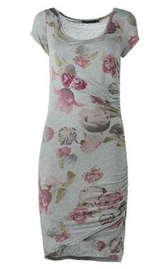 Dress Short Sleeve Dresses, Dresses With Sleeves, Flower Prints, Outfits, Clothes, Style, Fashion, Swag, Moda