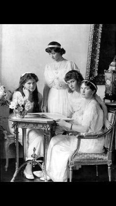 ๑ Nineteen Fourteen ๑ historical happenings, fashion, art & style from a century ago - Romanov Girls -1914