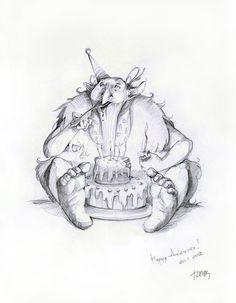 pencil-ink-drawings-old-winter-fairy-tales-adamova-marina7
