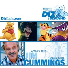 Disney on Demand Podcast Show #13 with Jim Cummings