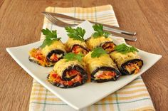 Summer Recipe: Baked Eggplant Rolls
