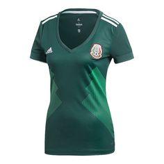 422e6a2310e adidas Mexico Women s 2018 Home Replica Soccer Jersey