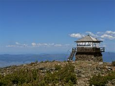 Lookout at Saint Mary Peak, Bitterroot Range, Montana.    Submitted and photographed by Chris La Tray.