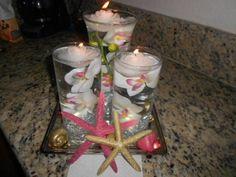 starfish centerpiece   ... First DIY Centerpeices : wedding centerpieces diy Starfish Centerpiece