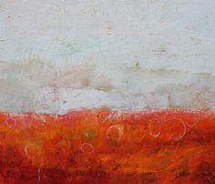 Derecho, acrylic on canvas with oil stick, 48x54 www.duanecregger.com