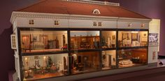 An exhibit at the DeWitt Wallace Decorative Arts Museum showcases some of the best examples from the Colonial Williamsburg dollhouse collection.