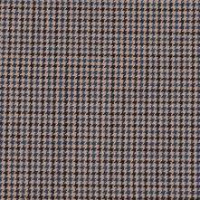 Italian Beige/Chocolate/Slate Blue Wool Blended Suiting