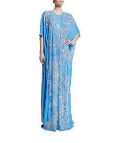 Designer Farasha Morrocan Kaftan Jalabiya Dubai Abaya Full Crystal Arab Kaftan #Leena #EmpireWaist #Wedding