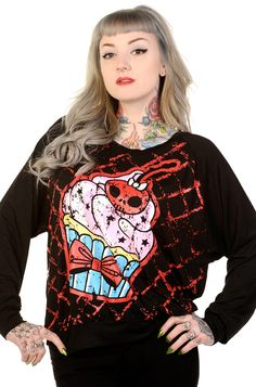 Banned Cupcake Women's Sweatshirt