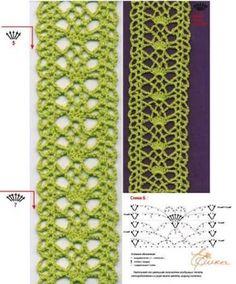 Resultado de imagem para cinto de croche com graficos