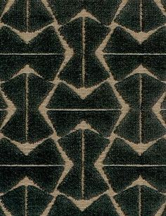 Machine Age Velvet by Pollack Art Deco Fabric, Art Deco Rugs, Machine Age, Indoor Air Quality, Upholstered Furniture, Pattern Wallpaper, Brown And Grey, Printing On Fabric, Upholstery