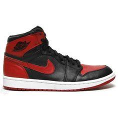 Air Jordan 1 Banned Black Varsity Red White 432001-001