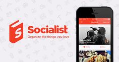 Organize the things you love. Socialist is the new app for iOS 7 that helps you create, collaborate and share lists all in one place.
