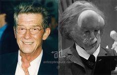 John Hurt sin máscara