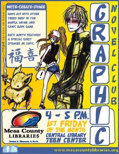Graphic Novel Club - Library Events - Mesa County Libraries