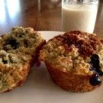 Blueberry Chia Seed Muffins - the perfect recipe, just in time for National Blueberry Muffin Day on Saturday! | Clearly Organic Nutritionist Corner