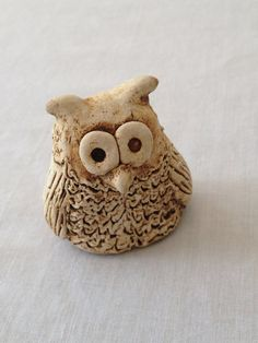 Miniature Clay Owl