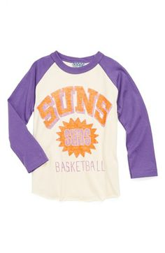 Junk Food 'Phoenix Suns' Long Sleeve T-Shirt (Toddler Boys) available at #Nordstrom