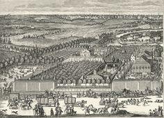 А.Шхонебек. Усадьба Ф.Головина и Немецкая слобода за Яузой (1705)