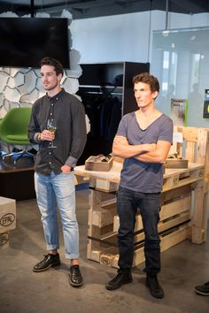 NOKAOS Designer, Simon Oschwald und Manuel Kallen