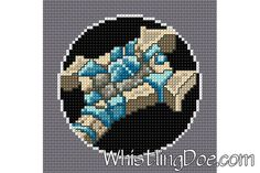 Warcraft Priest Class Emblem Cross Stitch Pattern by WDPatterns