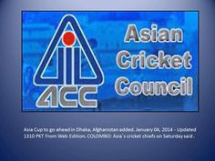 Asia Cup 2014 cricket Schedule