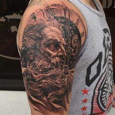 Cronos tattoo