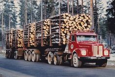 SCANIA////////// Big Rig Trucks, Cool Trucks, Cool Cars, Transport In Europe, Road Transport, Logging Equipment, Heavy Equipment, Timber Logs, Road Train