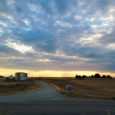 Porterville, CA #sunset #country