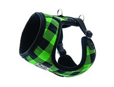 RC Pet Products Cirque Soft Walking Dog Harness, Small, Green Buffalo Plaid *** See this great product.