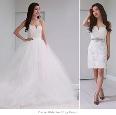 ExtraPetite.com - Wedding gown silhouettes - the (convertible) ballgown, sheath, and fit   flare