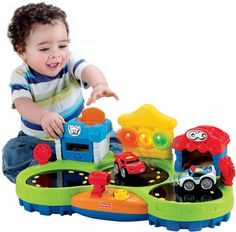 Amazon.com: Fisher-Price Chase & Race Town: Toys & Games
