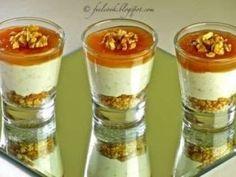 Bicchierini gorgonzola, pere e noci, Ricetta Petitchef