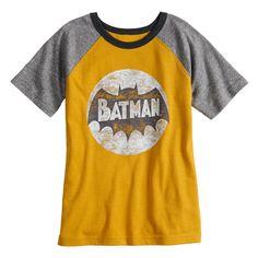 ab4e9e03 Boys 4-10 Jumping Beans® Distressed Batman Graphic Tee, Yellow Jumping  Beans,