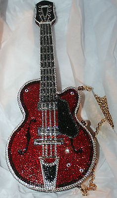 Judith-Leiber-GUITAR-Crystal-Novelty-Handbag-Clutch